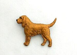Dog Show Breed Brooch pin - Griffon Fauve de Bretagne