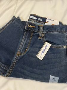 Old Navy Boot Cut Adjustable Waist Stretch Boys Jeans Size 14