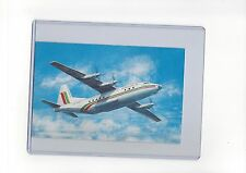 """Balkan Bulgarian Airlines issued  AN-12 artistic  4 1/2"""" x 7"""" postcard"""