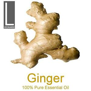 GINGER 100% PURE ESSENTIAL OIL 10ML