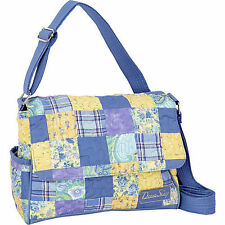 Donna Sharp Pauline Handbag/Crossbody Bag in Lemon Drop Pattern (SALE!)