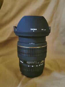 Sigma 24-70mm 2.8 EX DG for Canon