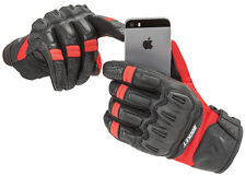JOE ROCKET MENS PHOENIX 5.1 RED MOTORCYCLE GLOVES SIZE X-LARGE TOUCH SCREEN