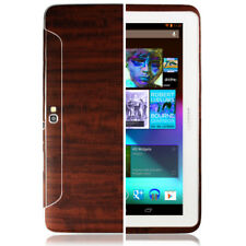 Skinomi Tablet Dark Wood Cover+Screen Protector for Samsung Galaxy Note 10.1
