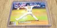 David Bednar 2020 Topps Stadium Club Chrome #374 Rookie Red Refractor #3/5 RC