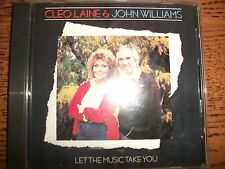Cleo Laine/John Williams-Let The Music Take You-1983 CBS!
