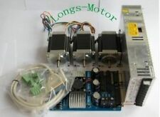 NEW ARRIVAL  3Axis Nema23 Stepper Motor 272oz-in 4Leads,3.0A Board CNC Kit
