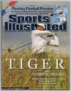 2005 Sports Illustrated Magazine Tiger Woods British Open NO LABEL UNREAD