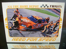Tony Stewart #20 Home Depot Traks 2007 Card #86 NEED FOR SPEED