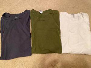Jcrew American Apparel Slim Fit T Shirt Lot Medium White Olive Navy Men Topman
