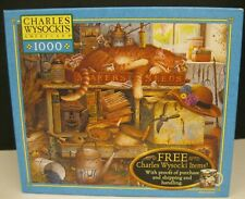 CHARLES WYSOCKI'S AMERICANA 1000 PCE JIGSAW PUZZLE REMINGTON THE HORTICULTURIST