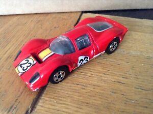 1/64 hot wheels Ferrari P4 racing car old style black wheels