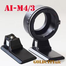 Nikon F AI Mount to Micro Four Thirds M4/3 GF GF1 Adapter AI-M4/3 with Tripod