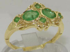 Emerald 9 Carat Yellow Gold Fine Jewellery