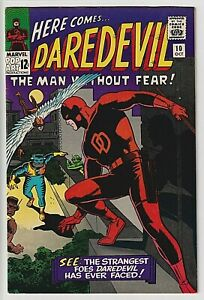 Daredevil #10 VF++ 8.7 Beautiful ! WHITE PAGES ! 1st Appearance of Ani-Man WOW !