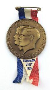 Royal Visit 1939 to Canada Coronation King George VI Queen Elizabeth Pin N471