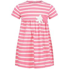 IL GUFO BABY GIRLS PINK STRIPED DRESS 2 YEARS
