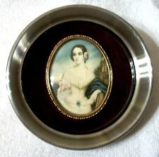 Cameo Creation Wall Picture Cameo Portrait Isabella Montgomery G. Romney Vtg #14