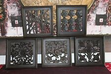 NEW Balinese Carved MDF/Wood Wall Panels - Bali Wall Art - Many Styles Available