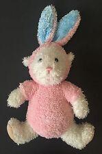Just Friends Bunny Lamb Rabbit Sheep Plush Stuffed Animal Toy White Pink Beanie
