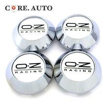 68mm New Oz Racing Logo Car Wheel Rim Center Hub Caps 4pcs Sliver