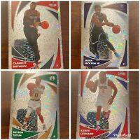 2020-21 Panini NBA Sticker & Card - All Silver Sparkle Holo Foil! - You Pick!