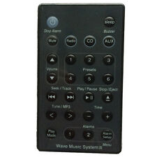 New Remote (Black) For Bose Wave Radio/CD Music System AWRC-C1 AWRC-C2 S5M1