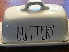 NEW Rae Dunn LL BUTTERY/SMOOTH covered butter dish  New! HTF!