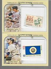 2011 Topps Gypsy Queen - JOE MAUER - Stamp Insert #31 - TWINS  #d 05/10
