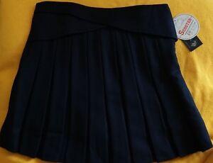Girls School Uniform Skort Scooter Cullotte U.S. Polo Assn Navy RRP USD$28 PB12