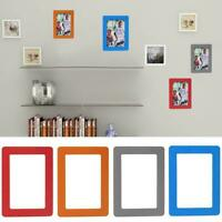 A4 Photo Photo Frame Magnetic Picture Document Display Frame Mini 5in Holde F7M8