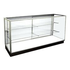 Extra Vision Showcase, Glass Display Case, Retail Store Fixtures, 4' Long