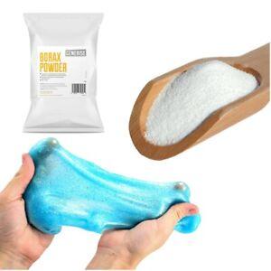 BORAX PURE 99.9%  Slime Activator  UK ORIGINAL BEST Powder  Makes Perfect Slime