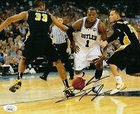Shelvin Mack Signed Butler Bulldogs 8x10 Photo W/ JSA COA