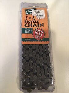 Copper Canyon 5-21 Speed Bicycle 1/2 x 3/32 Chain 116 Link 60122 NIP