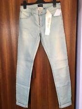 Emporio Armani Women's Light Blue Washed Slim Fit Jeans Size 29 BNWT RRP £175.00
