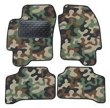 Armee-Tarnungs Autoteppich Autofußmatten Auto-Matten für Jaguar X-Type 2005-2008