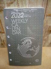 Agenda Weekly 2022 Intempo Ricambio Settimanale Orizzontale 8x13 Bianco (001)