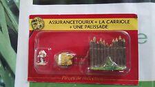 assurancetourix + la carriole + une palissade  N° 7 village astérix atlas