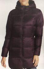 Eddie Bauer Women's Luna Peak Water Resistant Down Parka Jacket, Deep Eggplant S