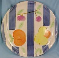 Heritage Mint Harvest Dinner Plate Apple Pear Cherries Artist's Touch
