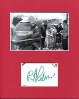 Bob Gurr Disneyland Monorail Disney Imagineer Signed Autograph Photo Display