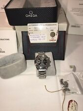 Omega Speedmaster Racing Watch Signed By Michael Schumacher Box Cert Warranty