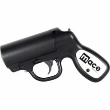 Mace Pepper Gun Distance Defense Spray with STROBE LED, Matte Black SKU: 80405