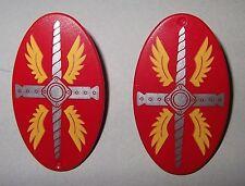 27252 Escudo ovalado rojo romano 2u playmobil,shield,scudo,roman,romain