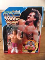 VINTAGE 1991 WWF HASBRO BRUTUS THE BARBER BEEFCAKE ACTION FIGURE NEW SEALED MOC