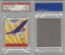 R137 Goudey, Sky Birds, 1941, #15 Russia U.R.S.S. L-760, PSA 9 MC Mint