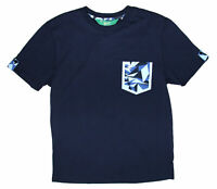 Penguin Mens Dress Blue Pocket Short Sleeve Tee