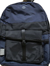 C6 / FOLK Collaboration Rucksack Backpack Bag Navy/Black NEW Nylon Fabric