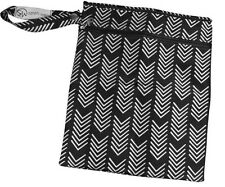 "Sarah Wells ""Pumparoo"" Wet/Dry Bag (B&W) (Authentic from Manufactuer)"